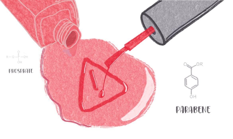vernis à ongles nocifs et toxiques